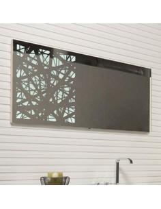 Ogledalo z LED svetilko Indigo