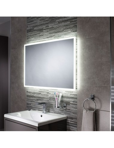 Ogledalo z integrirano LED svetilko Glimmer