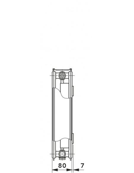 21KV-S ventilski radiator Vogel&Noot