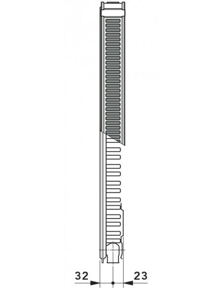 11K kompaktni radiator - Klasik Vogel&Noot